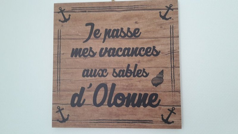 VOS VACANCES AUX SABLES D'OLONNE LA 10ème des plus belles plages de France !, holiday rental in Chateau-d'Olonne
