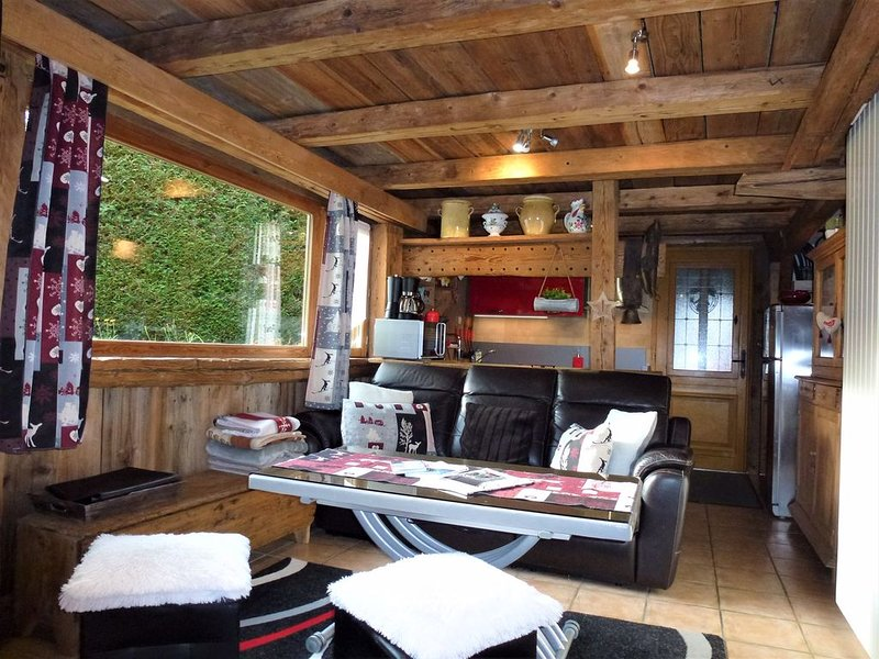 GARDEN IN CHALET WITH WIFI, holiday rental in Chamonix