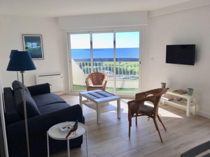 Saint-Jean-de Luz⎜Bel appartement vue mer · à 2 pas de la plage · Parking, location de vacances à Saint-Jean-de-Luz
