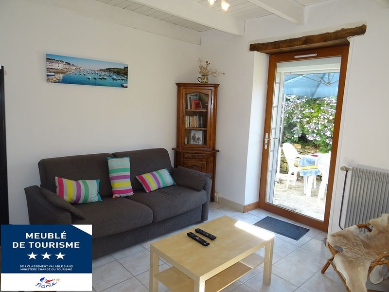 Vacances en pays bigouden proches de la mer, holiday rental in Ploneour Lanvern