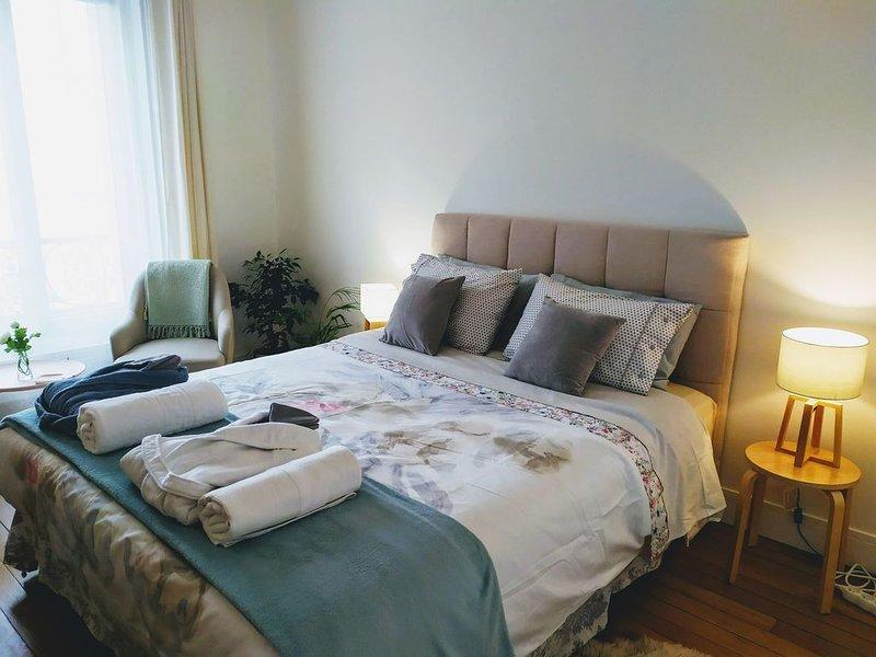 Paris -  Cosy 2 pièces calme tout confort bien situé  4 personnes, vacation rental in Val-de-Marne