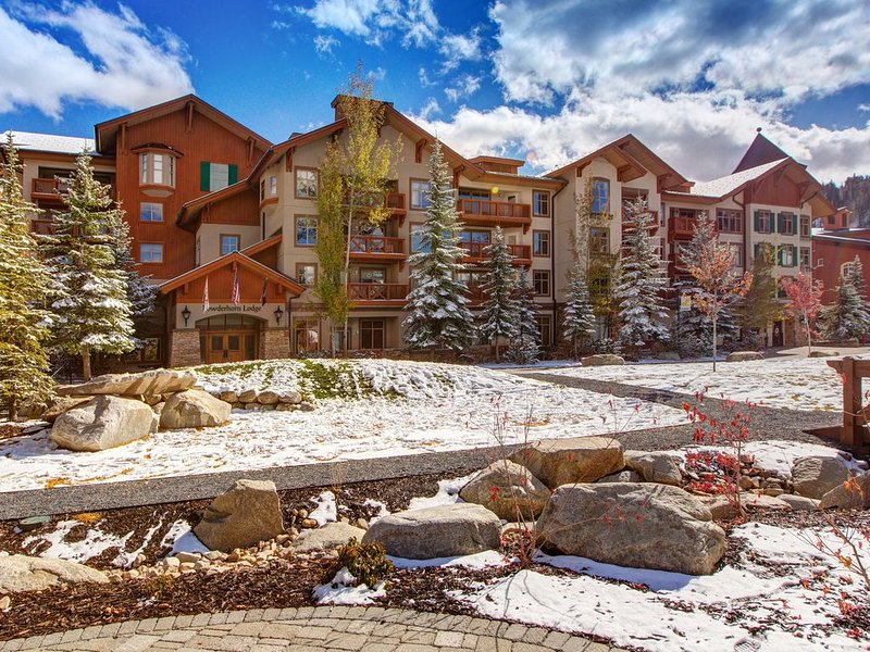 New listing! Ski in/out condo w/ shared pool, hot tub and amazing ski view!, holiday rental in Solitude