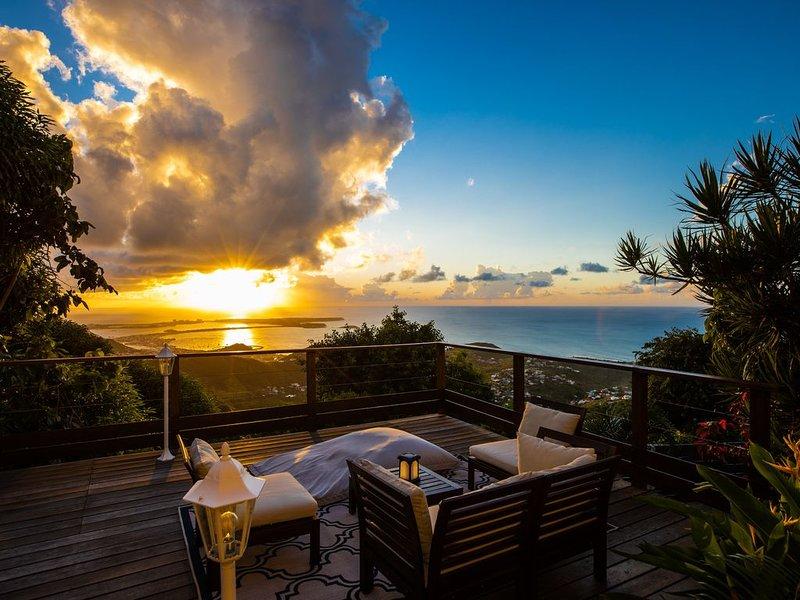 Pic Paradis, The Perfect Getaway., holiday rental in Rambaud