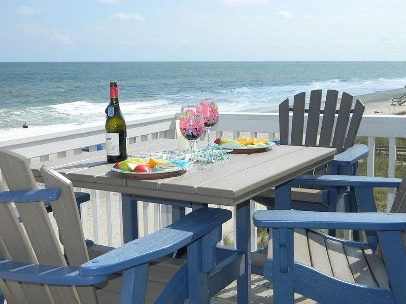 Ocean Dunes 1306 - Ocean front, 3 bed/2 bath, top floor, spectacular beach view!, vacation rental in Kure Beach