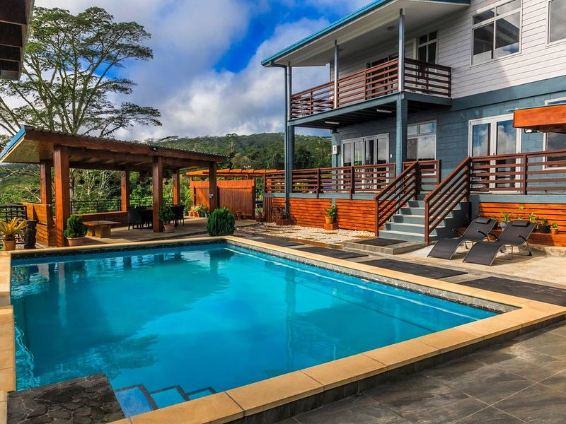 Entire House that accomodate 8 people with four rooms and four bathrooms., holiday rental in Apia