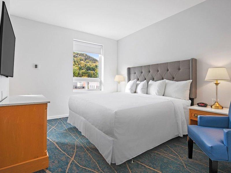 Premier King Room - Suite - 1 King, alquiler de vacaciones en Castlegar