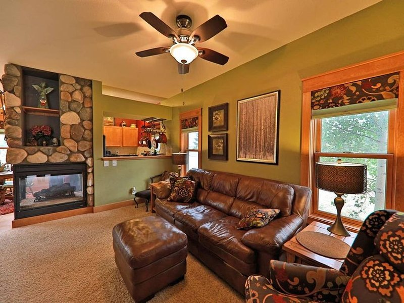 Cozy Mountain Home, skiing, fishing, and more!, holiday rental in Hot Sulphur Springs
