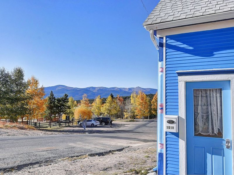 High Mountain Blue - Rustic & Charming, Pets OK, family friendly, holiday rental in Leadville