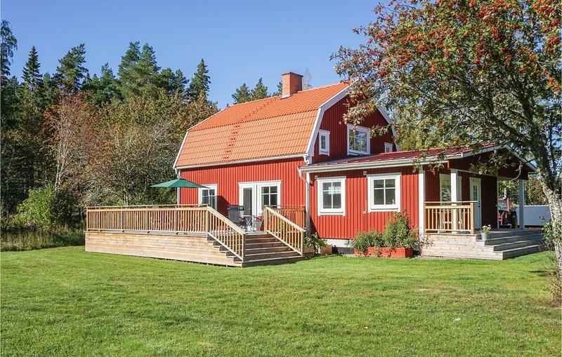 2 Zimmer Unterkunft in Tranås, location de vacances à Granna
