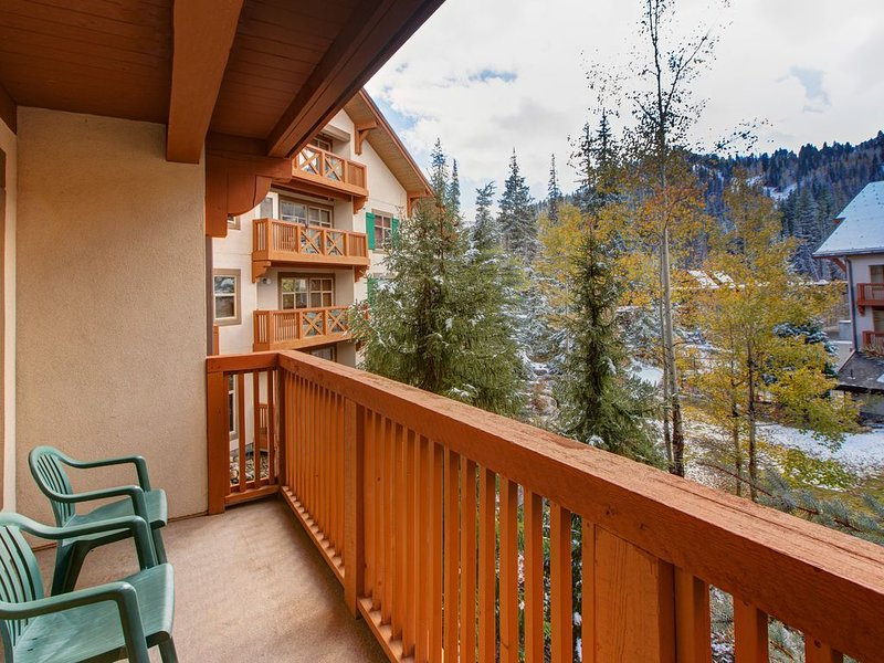 New listing! Ski in/out condo w/ shred pool, hot tub and amazing ski views!, holiday rental in Solitude