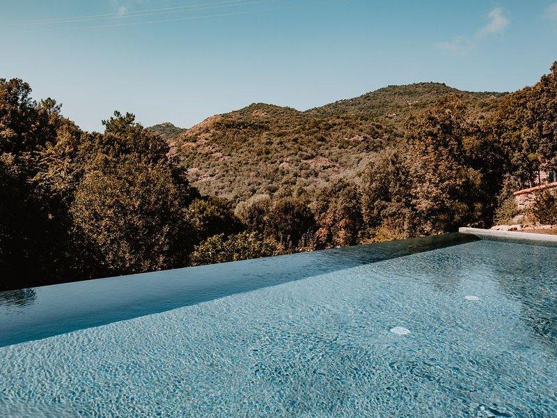 Appt. dans demeure de charme - bâtisse de caractère - golfe de Porto-Scandola, alquiler de vacaciones en Evisa