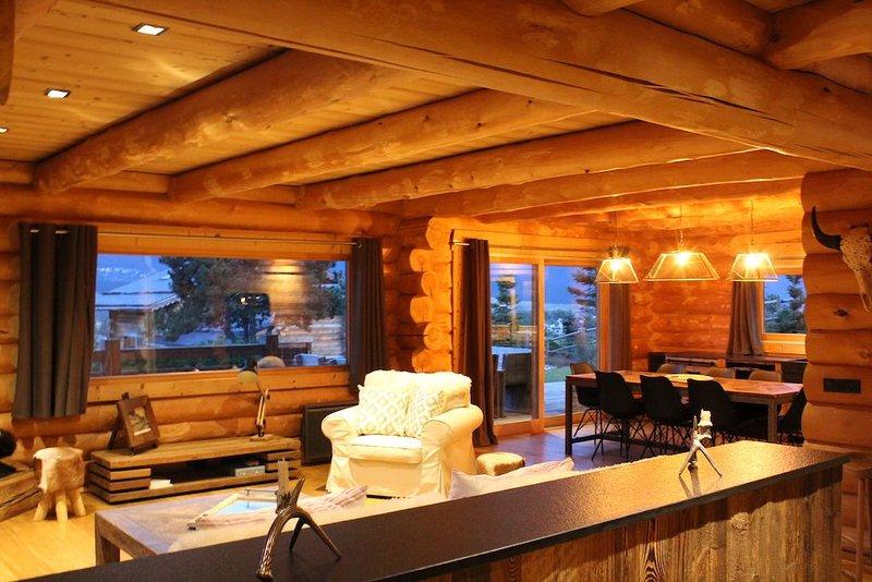 Magnifique Lodge de Montagne, location de vacances à Eyne