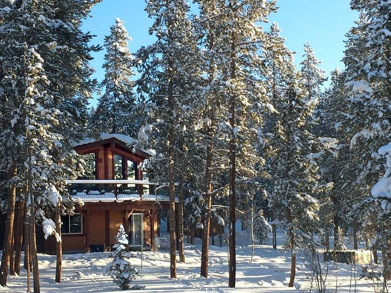 Family-Friendly Mountain getaway on 2 acres, near Winter Park, Fraser + Granby, location de vacances à Tabernash