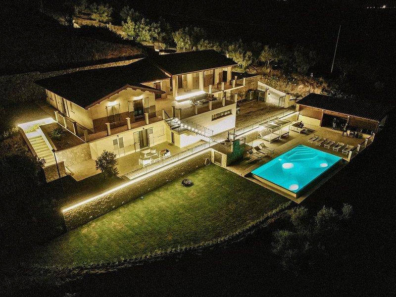 Privatsphäre pur mit unglaublicher Meersicht, location de vacances à Calalunga-Pietragrande
