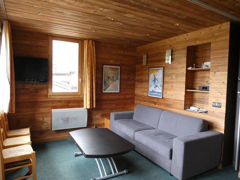 Magnifique appartement situé au pied des pistes, casa vacanza a Les Avanchers-Valmorel