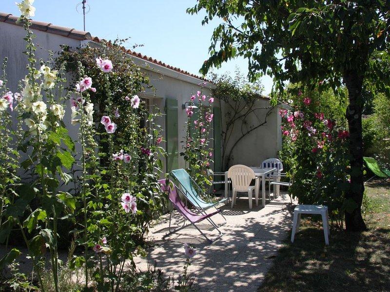Vacances au calme et au soleil à Ré La Blanche, holiday rental in La Flotte