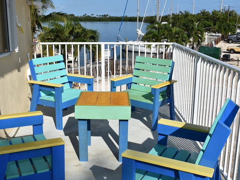 Spectacular open-water Sunset Views with Boat Slip, newly remodeled, holiday rental in Long Key