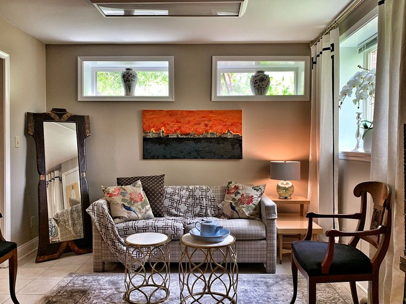 Designer Chic 1Bed & 1Ba Private Apartment Close to DC/MD/VA, holiday rental in Reston