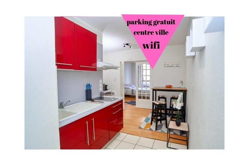 Charmant appartement 1 cosy centre ville, holiday rental in Viersat
