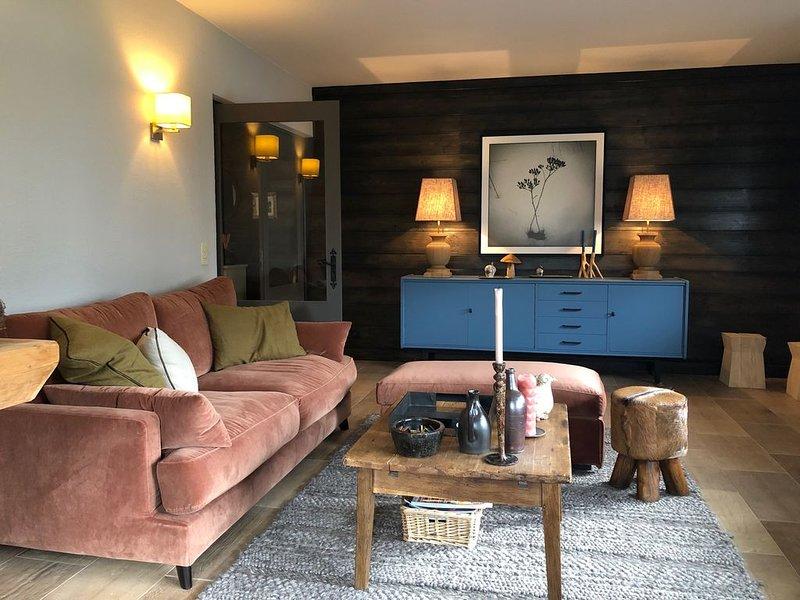 Grand T2 confortable, 58 m2, Megève - Chaleureux, location de vacances à Haute-Savoie