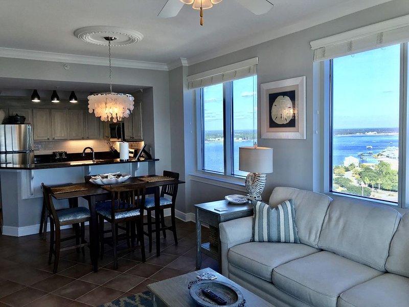 Crystal Tower 1701, Beachfront, Self Check-In & Flexible Cancellation Policy, alquiler de vacaciones en Gulf Shores