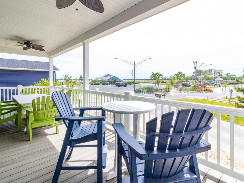 Family fun-large home, private beach, steps from marina, pools, pet friendly!, vacation rental in Millsboro