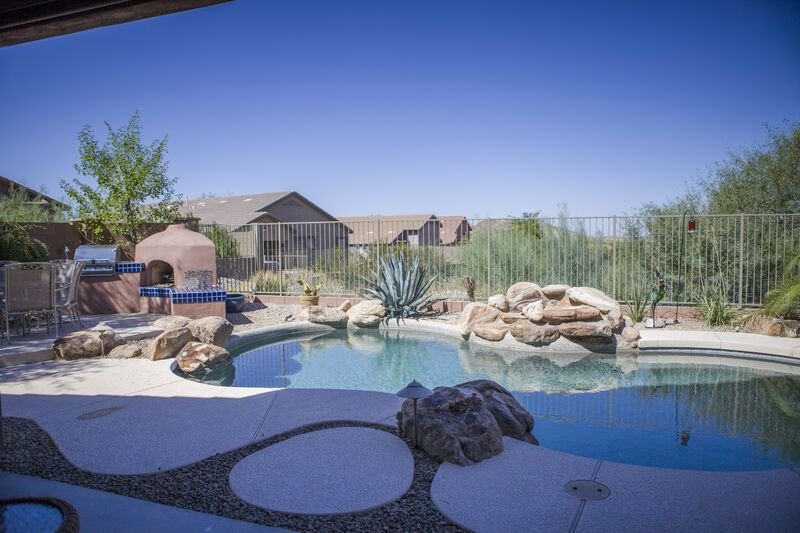 KABINO: New Rental near Superstition Mtns! Gorgeous Pool Oasis! Hiking trails! W, Ferienwohnung in Gold Canyon