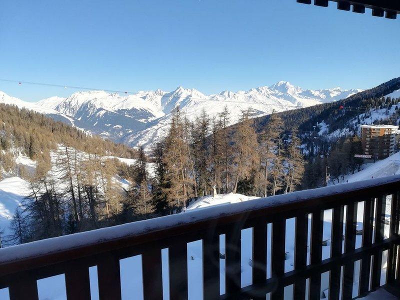 Appartement Plagne Centre 5/7 pers - Vue Mt Blanc - 50m du front de neige, vacation rental in Macot-la-Plagne