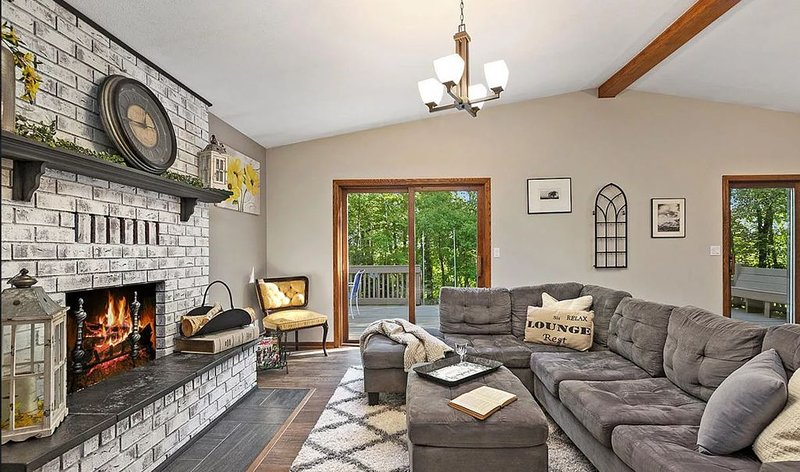 Pure Michigan Retreat on the Muskegon River, holiday rental in Trufant