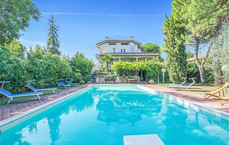 1 Zimmer Unterkunft in San Costanzo -PU-, holiday rental in San Costanzo