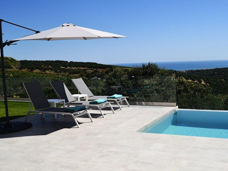 New build in 2019! Villa Chryso in Xamoudochori,  Platanias, holiday rental in Sirili