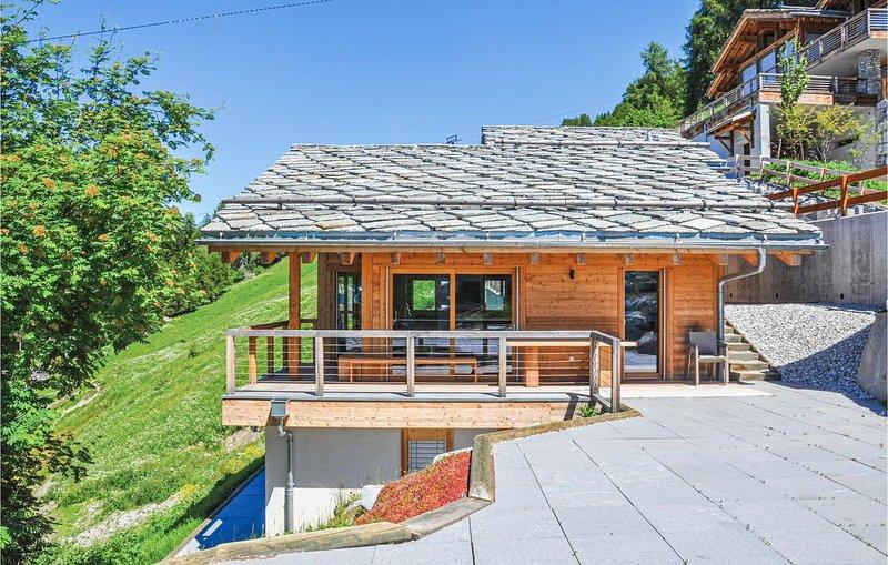 3 Zimmer Unterkunft in Veysonnaz, vacation rental in Veysonnaz