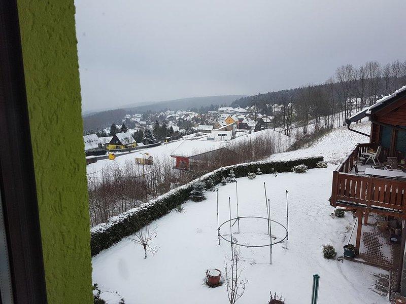Ferienwohnung am Balkon des Erzgebirges, holiday rental in Schlettau