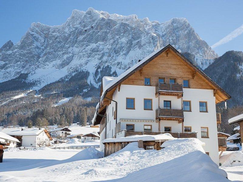 Kuschelige Ferienwohnung mit Sauna und Skiraum im Haus – semesterbostad i Plansee