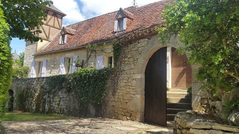 Magnifique demeure du 17ème, tout  confort, piscine, Dordogne, Martel, location de vacances à Lachapelle-Auzac