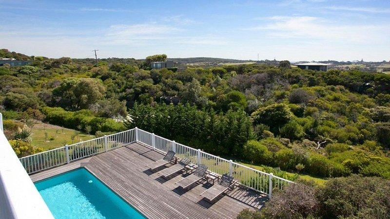 Whimsy in Portsea - swimming pool and deck, casa vacanza a Portsea