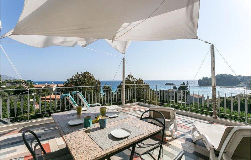 2 Zimmer Unterkunft in Taormina, holiday rental in Spisone