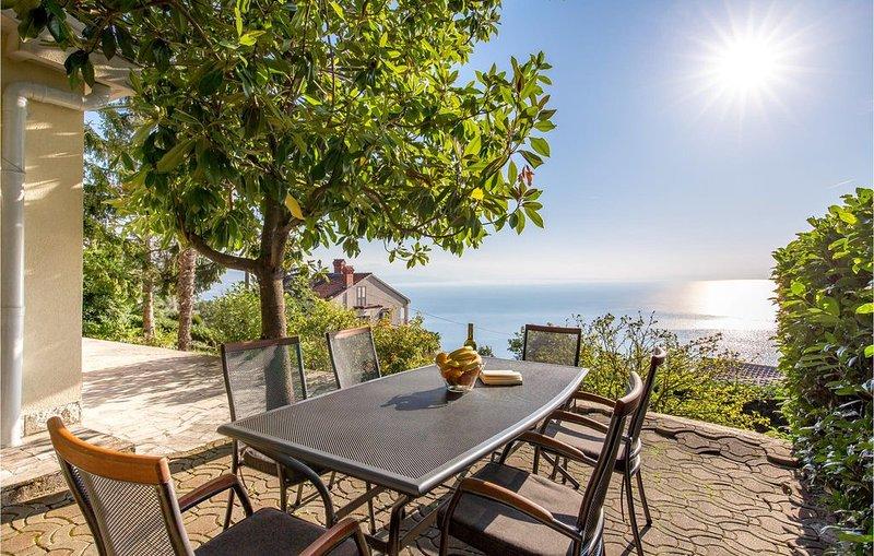3 Zimmer Unterkunft in Veprinac, holiday rental in Veprinac