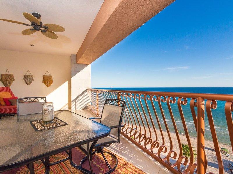 Sonoran Sun E-805 Good Morning Sunshine 2 BR Oceanfront, holiday rental in La Choya