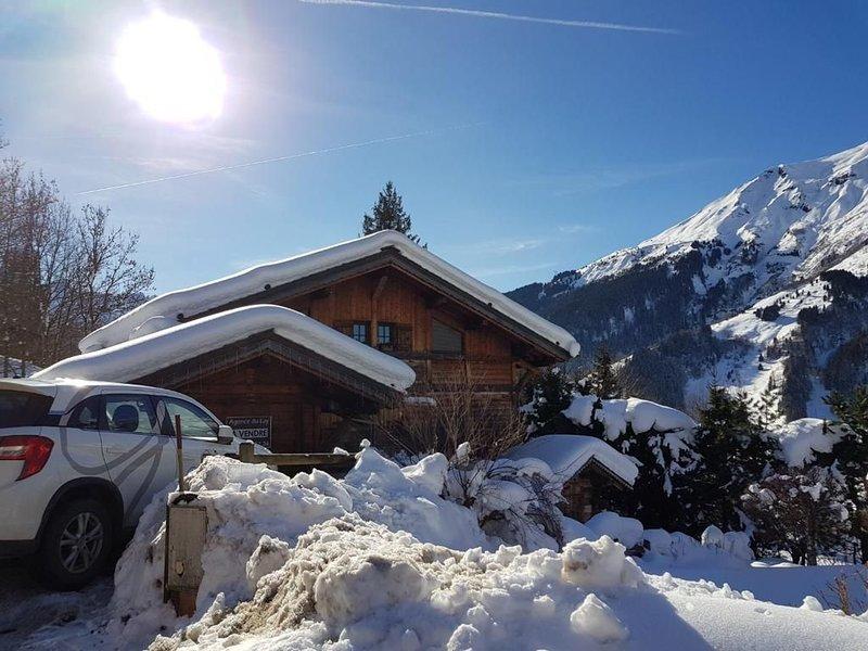 Chalet 4* avec Jardin et SAUNA - 14 Personnes - au pied du Mont blanc, location de vacances à Les Contamines-Montjoie