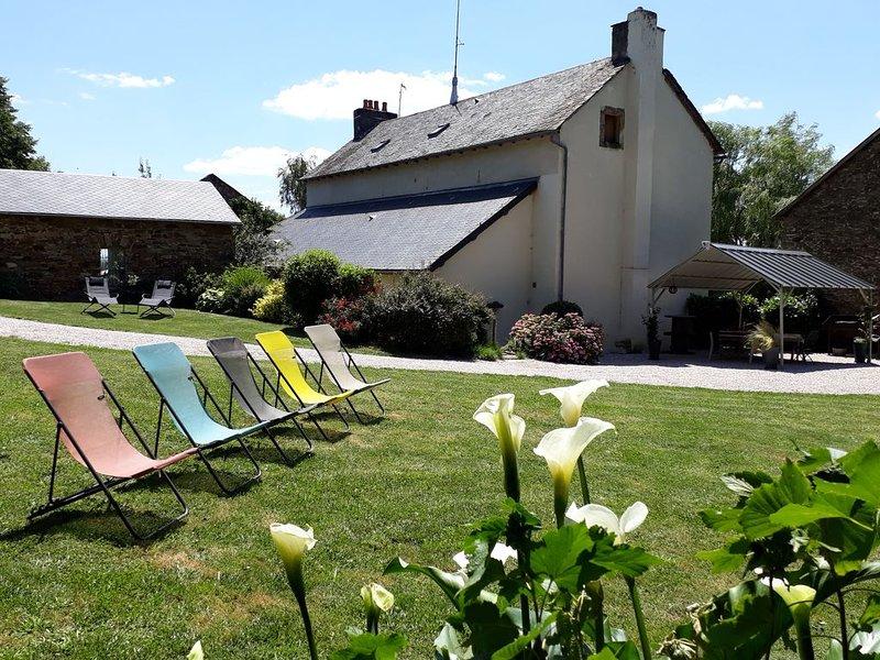 A la croisée des chemins de découverte de l'Aveyron : Gîte agréable, et reposant, holiday rental in Rullac-Saint-Cirq