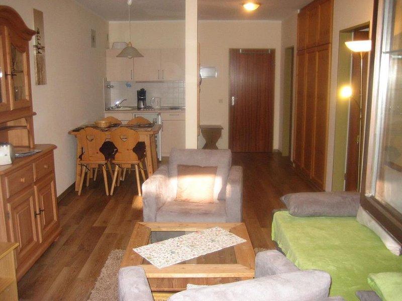 3*** 2 Zimmerwohnung mit Terrasse.  Hunde sind auch willkommen,neues Badezimmer,, alquiler de vacaciones en Oberaudorf