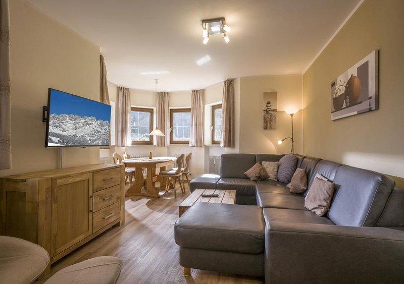 4 Sterne Erckerwohnung mit dem Panoramablick Sauna Spülmaschine neues Bad Wlan(E, alquiler de vacaciones en Oberaudorf