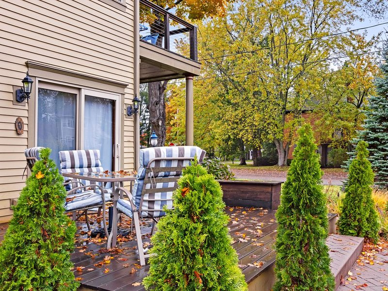 Charming escape with a beautiful back patio - just blocks from downtown!, holiday rental in Douglas