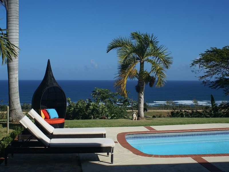 Relax in the sun with unobstructed ocean view