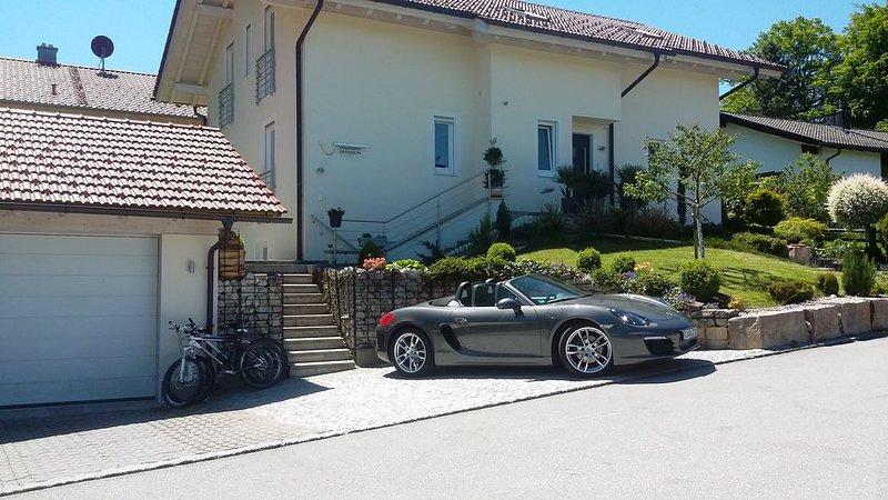 Moderne, hochwertig ausgestattete Ferienwohnung in ruhiger Lage, alquiler vacacional en Oberammergau