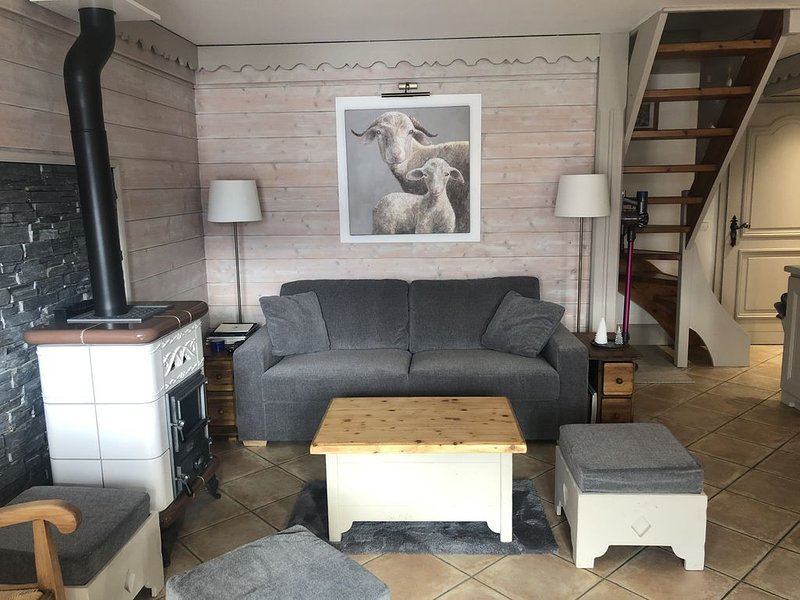 Appartement chaleureux *** 4 pièces,  6 personnes , Label Méribel, holiday rental in Les Allues