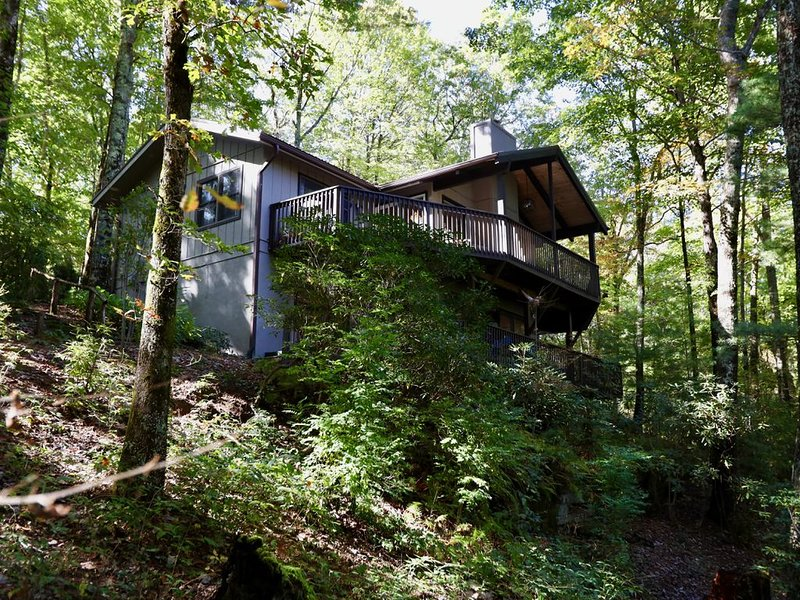 Beautiful Mountain Lake Vacation Getaway-Perfect for All Seasons!, Ferienwohnung in Lake Toxaway