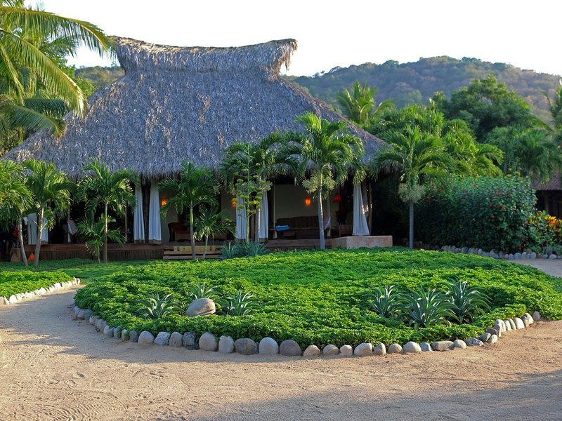 View of the Casa from beach.