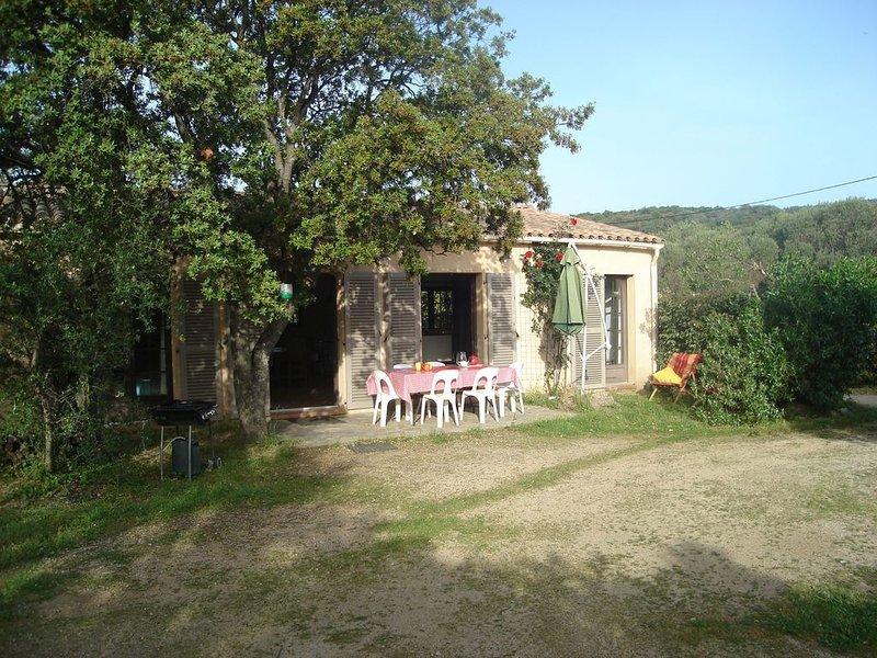 maison indépendante a la campagne à 9km de la mer, vacation rental in Speloncato